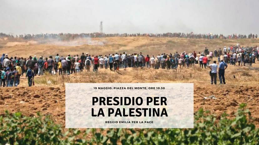"""Auser Provinciale Reggio Emilia aderisce unanimemente alla manifestazione """"Presidio per la Palestina"""""""