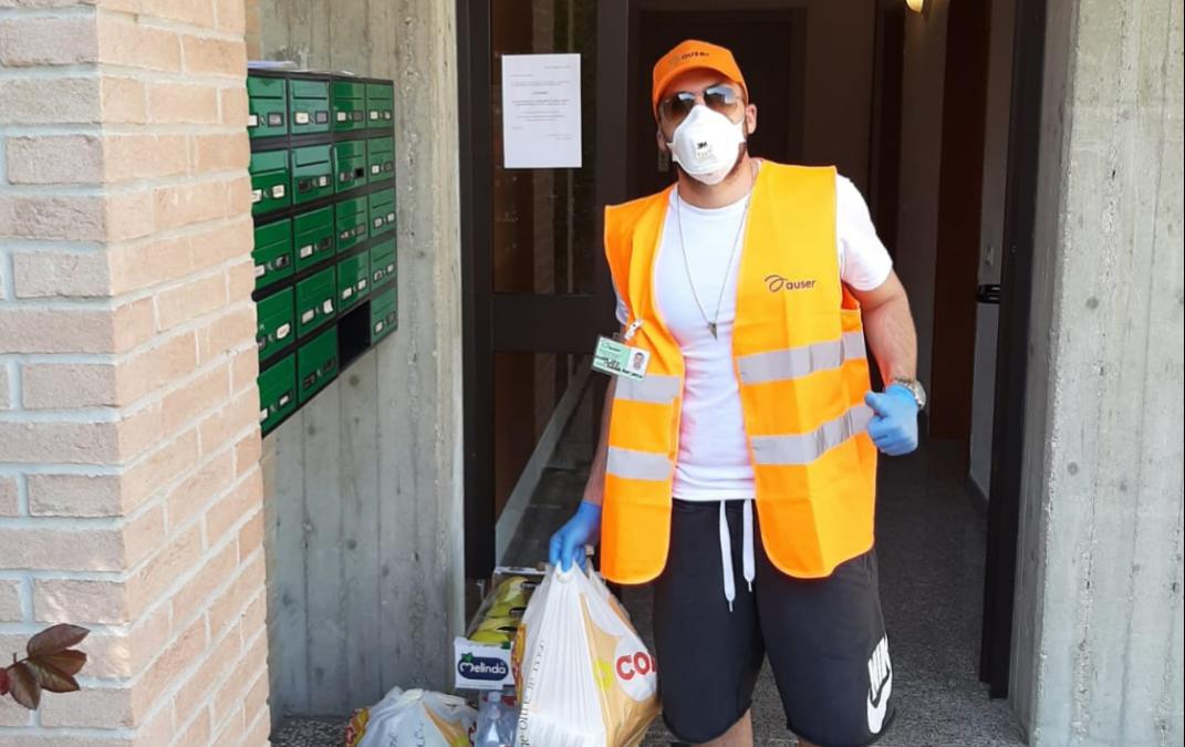 A Reggio Emilia Auser ha realizzato 1.000 consegne di spesa e farmaci