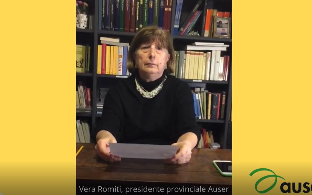 Vicinanza a tutti i volontari da Auser Provinciale Reggio Emilia