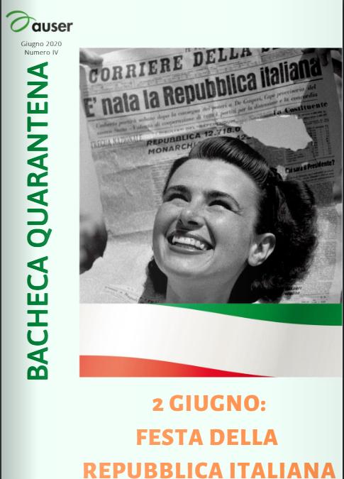 Bacheca Quarantena: disponibile il 4° numero
