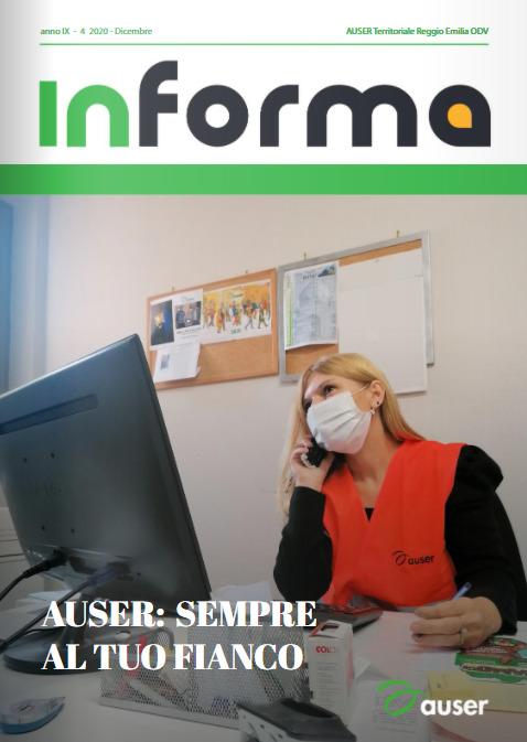 InForma: disponibile il nuovo numero della rivista Auser