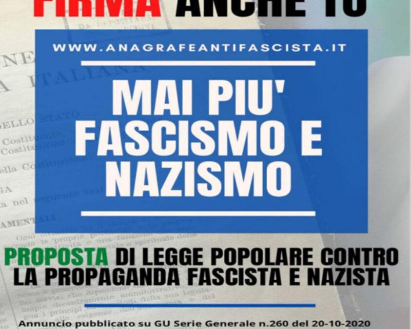 """Auser aderisce alla campagna """"Mai più fascismo e nazismo"""""""