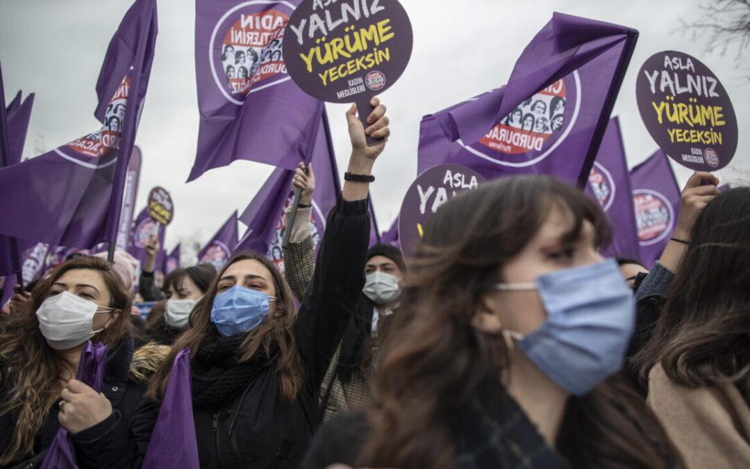 Auser: l'uscita della Turchia dalla Convenzione di Istanbul è una battuta d'arresto nella battaglia per l'eliminazione della violenza contro le donne